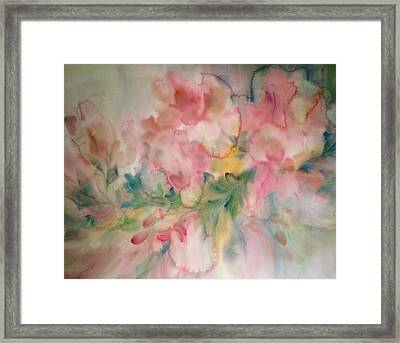 Fancy Frills Framed Print