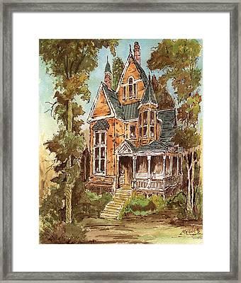 Fancy Old House 32 Framed Print by Aurelio Menna