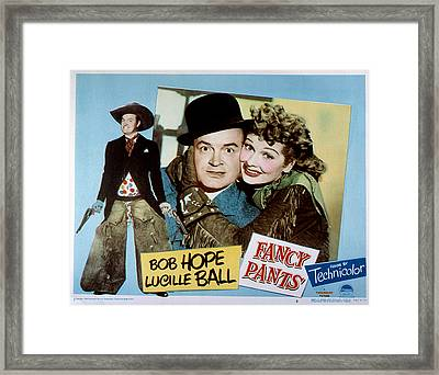 Fancy Pants, Bob Hope, Lucille Ball Framed Print