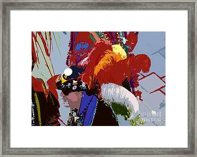 Fancy Pirate Framed Print