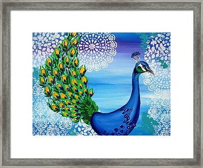 Fancy That Framed Print by Cathy Jacobs
