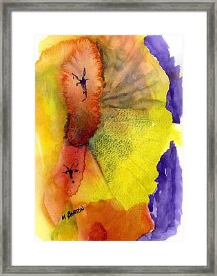 Fandango Framed Print by Marilyn Barton
