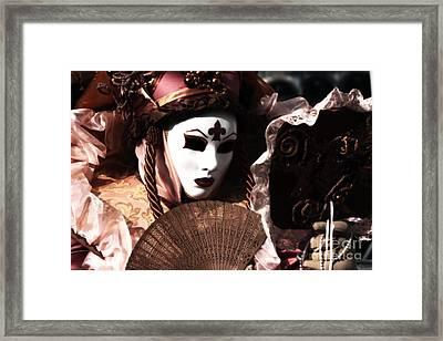 Fanning Framed Print by John Rizzuto