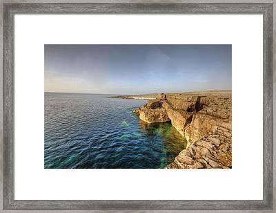 Fanore Coastline Framed Print by John Quinn