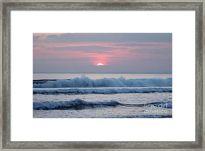 Fanore Sunset 1 Framed Print
