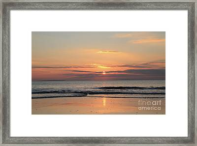 Fanore Sunset 3 Framed Print