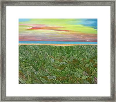 Fanore Sunset Framed Print by Eamon Doyle