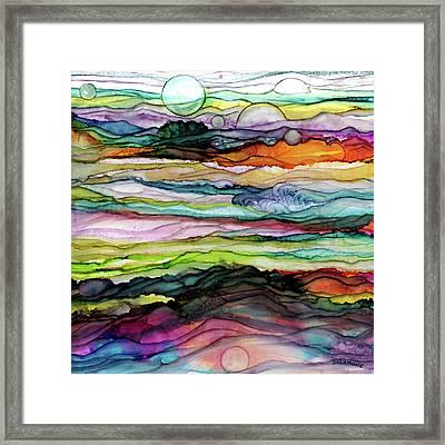 Fantascape Framed Print