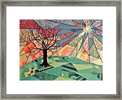 Fantasia Framed Print by Marie Halter