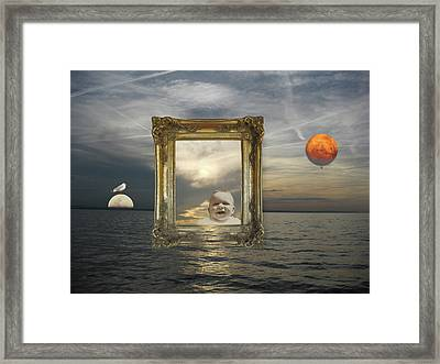 Fantasia Framed Print by Martina Rall