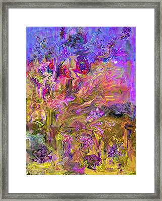 Fantasia Painting Framed Print by Don  Wright