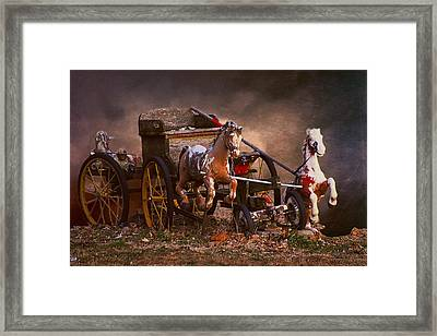 Fantastic Forgotten Toys Framed Print