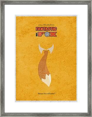 Fantastic Mr. Fox Framed Print by Ayse Deniz