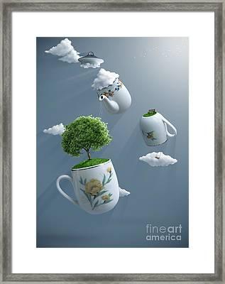 Fantastic Tea Framed Print