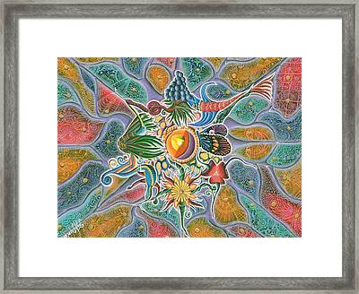 Fantastichesky Neuron Framed Print by Vera Tour