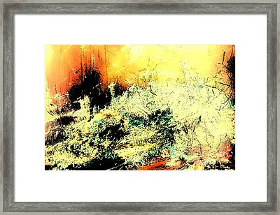 Fantasy Abstract Created Artwork    Framed Print
