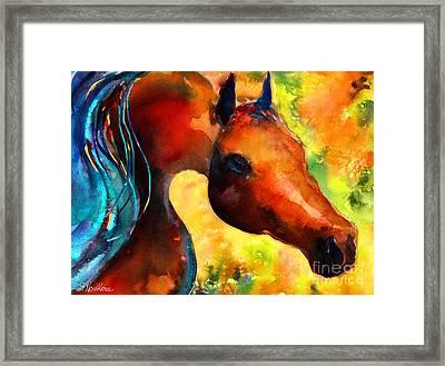 Fantasy Arabian Horse Framed Print