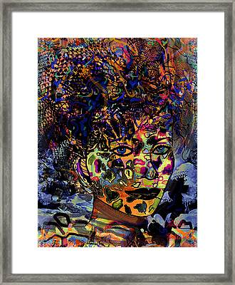 Fantasy Beauty Framed Print
