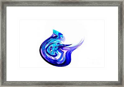 Fantasy Bird Framed Print by Thibault Toussaint