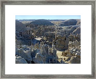 Fantasy Canyon 46 Framed Print by Jeff Brunton