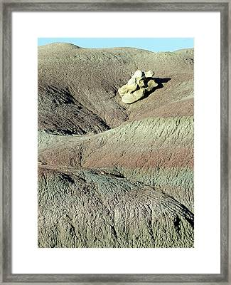 Fantasy Canyon 52 Framed Print by Jeff Brunton
