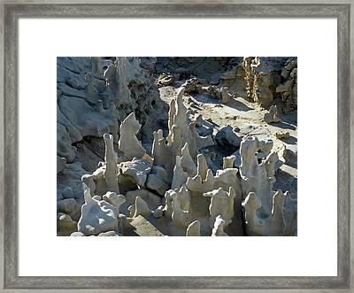 Fantasy Canyon 54 Framed Print by Jeff Brunton