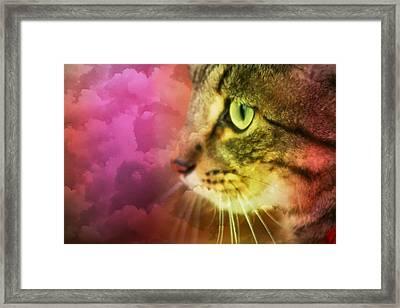 Fantasy Cat One Framed Print