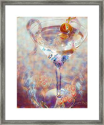 Fantasy Cocktail  Framed Print by ARTography by Pamela Smale Williams