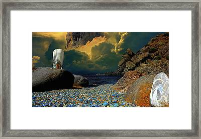 Fantasy-collage Framed Print