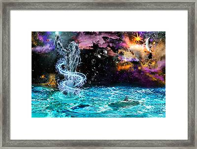 Fantasy Framed Print by Danielle Kasony