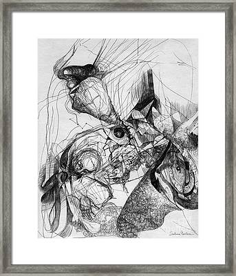 Fantasy Drawing 1 Framed Print by Svetlana Novikova