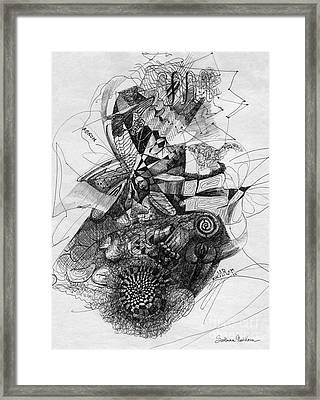 Fantasy Drawing 2 Framed Print by Svetlana Novikova
