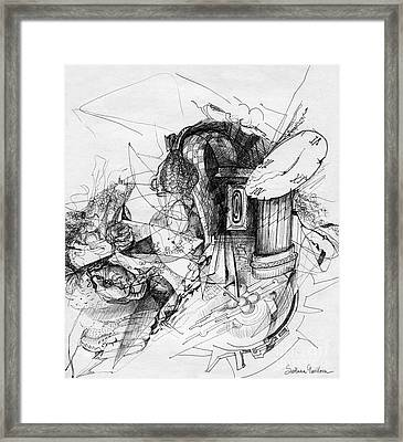 Fantasy Drawing 3 Framed Print by Svetlana Novikova