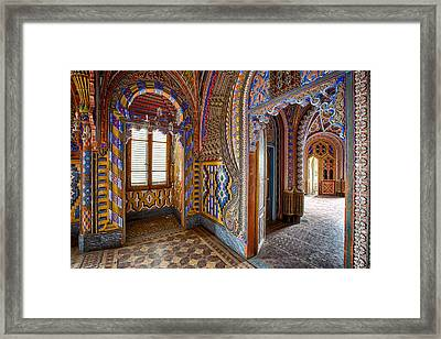 Fantasy Fairytale Palace - Abandoned Buildings Framed Print by Dirk Ercken
