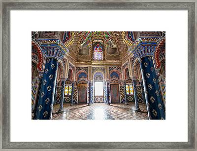 Fantasy Fairytale Palace - Abandoned Framed Print by Dirk Ercken