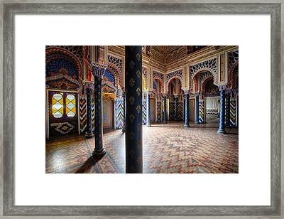 Fantasy Fairytale Palace - Let Light In Framed Print by Dirk Ercken