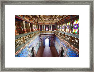 Fantasy Fairytale Palace - Patio Framed Print by Dirk Ercken