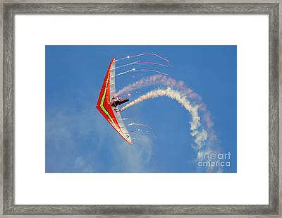 Fantasy Flight Framed Print by Larry Keahey