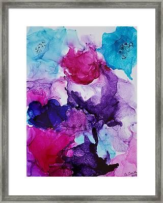 Fantasy Flowers Framed Print