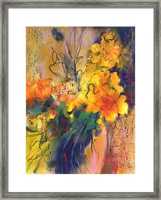 Fantasy Flowers Framed Print