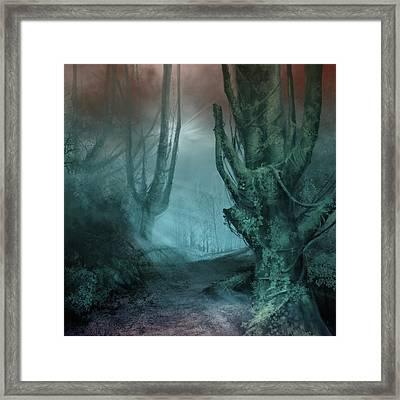 Fantasy Forest 2 Framed Print