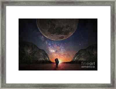 Fantasy Hike Framed Print