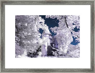 Fantasy In The Woods Framed Print by Jeffrey Miklush