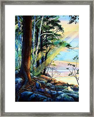 Fantasy Island Framed Print by Hanne Lore Koehler