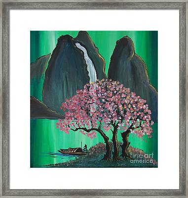Fantasy Japan Framed Print