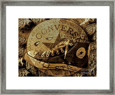 Fantasy On La Converse Framed Print