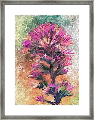 Fantasy Paintbrush Framed Print