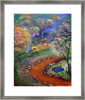 Fantasy Path Framed Print