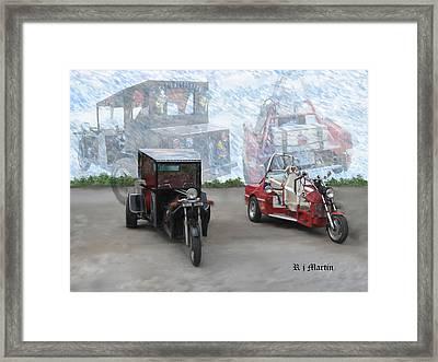 Fantasy Rides  Framed Print