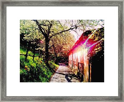 Fantasy Scenery Framed Print by Darkus Photo